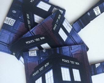 Handmade Dr. Who TARDIS Luggage/Stroller/ID/Backpack/Purse Tags