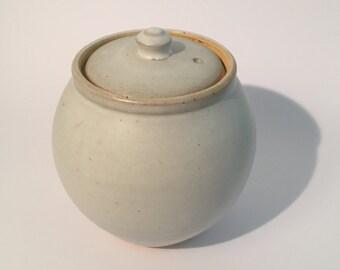 Handmade Ceramic Stoneware Sugar pot