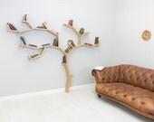 The Beech Tree Bookshelf - Made to Order Shelf Unit
