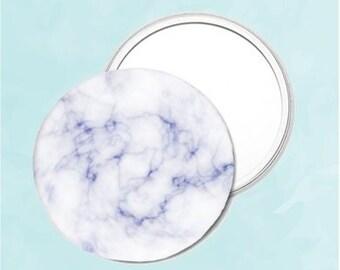Marble Pattern - Mini Pocket Mirror