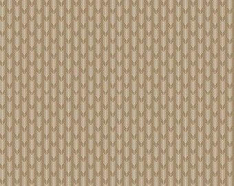 SALE!! 1 Yard High Adventure by Designs by Dani for Riley Blake Designs- 5555 Tan Arrows