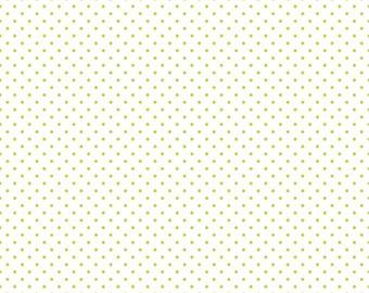 1 Yard- LIME Swiss Dot by Riley Blake Designs- C660-32