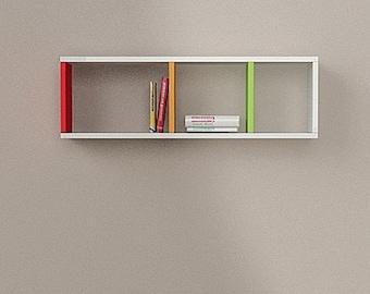 decorative shelf, bookshelf,wall decor,bookcase,wall bookshelf,modern bookcase,shelves,floating shelf,kitchen shelf