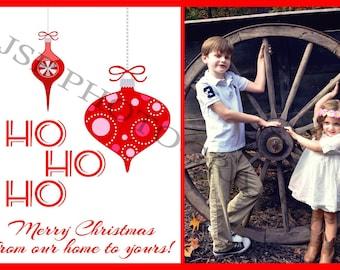 Christmas Card-Ho Ho Ho-5x7
