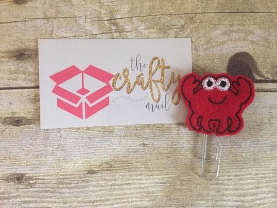Crab Paper Clip/Bookmark