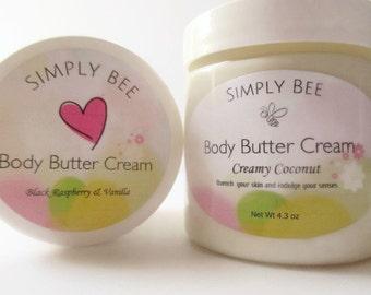 Body Butter Cream, Emulsified Body Butter, Moisturizer, Hand Cream, Body Cream, Lotion