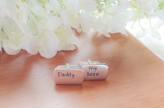 Personalised Wedding Gift For Husband : Personalised cufflinks wedding, gift for husband, personalised cuff ...