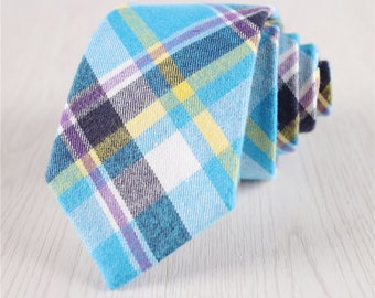 multicolored ties for wedding.cotton neckties.groomsmen ties.groom's ties.wedding ties+nt189