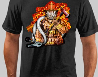 Fire Fighter Tee 7