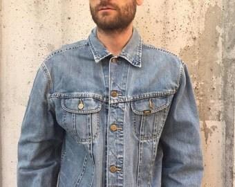 Vintage LEE Denim Jacket Size XL (130)