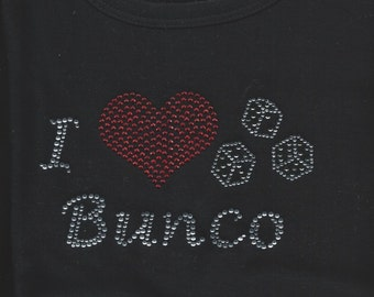Bunco Rhinestone T Shirt