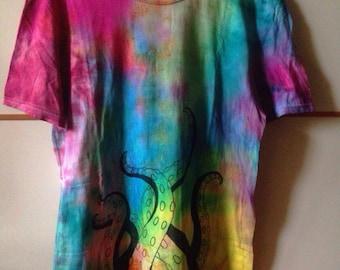 Rainbow Tie-dye T-shirt