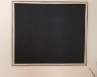 Off white framed chalkboard