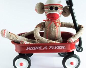 Original Sock Monkey-Sock Monkey Themed-Traditional Sock Monkey-Rockford Red Heel-Rockford Red Heel Sock Monkey-Sock Monkey-Brown Monkey