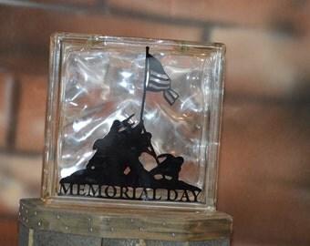 Soldier memorial block