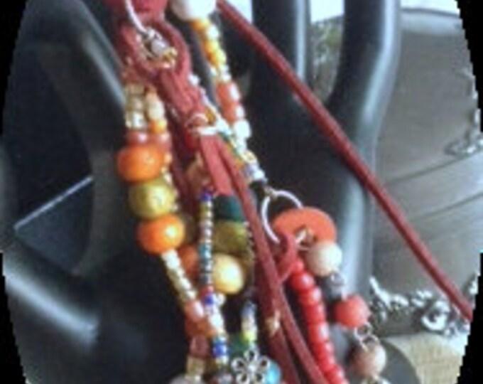 Multi Color Purse Zipper Charm/ Zipper Pull