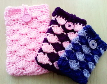 Crochet Cell Phone Covers