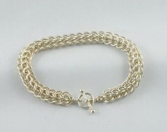Sterling Silver Persian weave bracelet.
