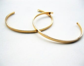 5pcs Gold Plated Expandable Bangle Bracelet Cuff Open Bracelet Brass Bracelet Charm Bracelet Wire Bangles G001