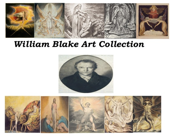 WILLIAM BLAKE ART collection