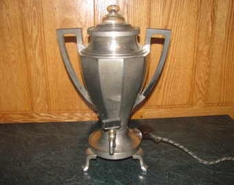 Antique Electric Perculator, Universal, Landers, Frary & Clark