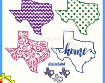 Texas SVG Texas pattern SVG Texas Home svg Texas Monogram Svg cut file for Cricut Silhouette Scan N Cut Commercial Use