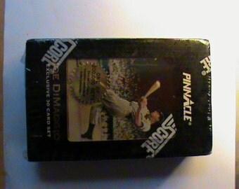 1993 Score Pinnacle Joe Dimaggio Baseball card sealed set 30 cards