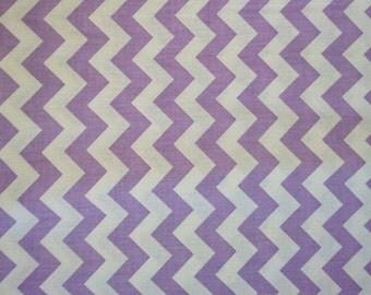 Cotton fabric, 100% cotton, fabric lilac herringbone, Chevron, 1/2 inches