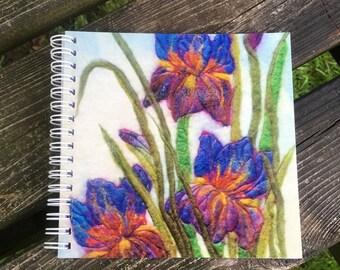 Iris Trio Spiral-bound Notebook