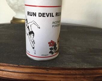 RUN DEVIL RUN incense powder