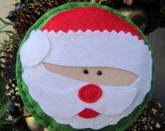 Father Christmas Ornament, Christmas Decoration, Santa Claus Decoration, Tree Decoration, Handmade Ornament