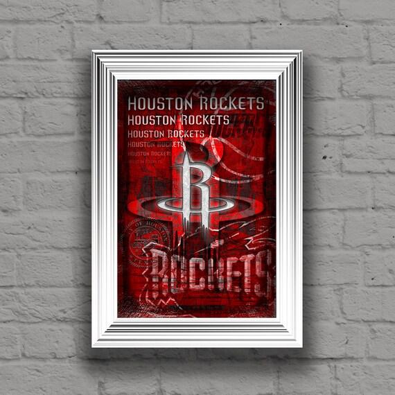 Houston Rockets Fan Shop: Houston Rockets Art Houston Rockets Poster Houston By