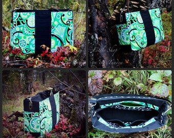 """Sylph Bag - Laptop Tote - Pattern from """"By Needle & Thread"""""""