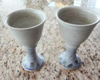 Vintage ceramic vintage glasses