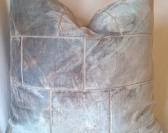 Kravet Couture Behind The Scene Mineral Stone Effect Belgian Velvet Pillow 18x18