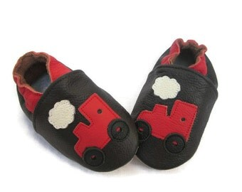 Helicopter Leather Baby Shoes
