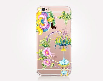 Enchanted Forest Clear Phone Case - Clear Case - For iPhone 8, 8 Plus, X, iPhone 7 Plus, 7, SE, 5, 6S Plus, 6S,6 Plus, Samsung S8,S8 Plus,
