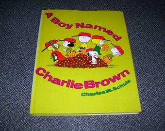 A Boy Named Charlie Brown by Charles M. Schulz HC/DJ 1st Ed 1969 EXCELLENT Vintage