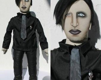 Marilyn Manson doll