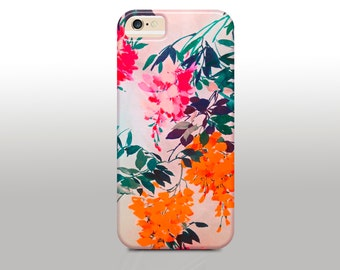 Floral Print iPhone Case, Texture iPhone Case, Boho iPhone Case,iPhone 6 case, iPhone 5s case, iPhone 5 case,iPhone 4
