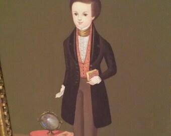 Folk art oil painting by Oscor #2