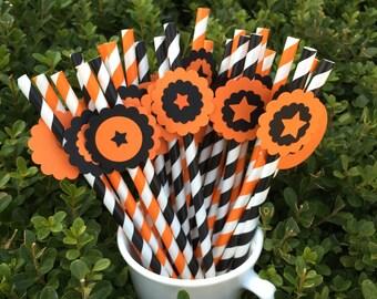 Halloween Paper Straw