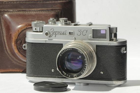 Rare Zorki-3 Vintage Soviet Rangefinder Camera With Jupiter-8 Lens&Case ж