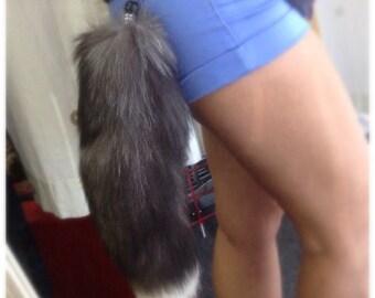 Fur Tail Keychain