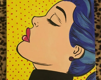 Retro Pop Art Painting