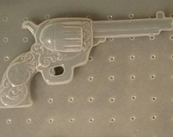 Fancy Revolver Gun Mold