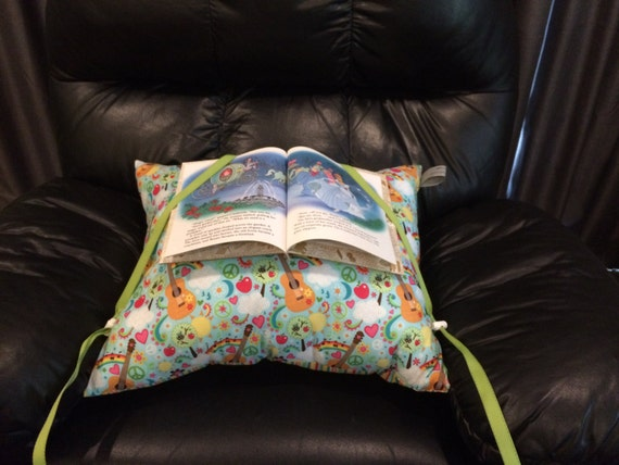 Music, Love, & Reading Pillow for Young Children