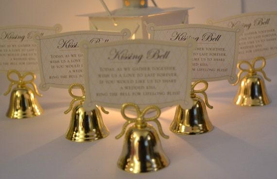 Wedding Bells 12 Wedding Kissing Bells Wedding By DealCardinal
