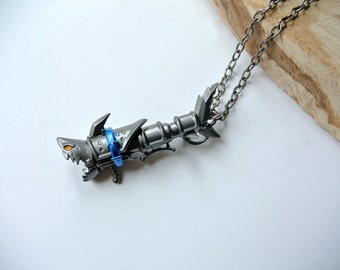 Jinx 'Fishbones' rocket launcher weapon necklace