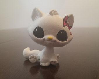 Hello Kitty Custom Painted LPS Cat